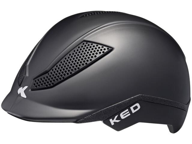 KED Pina Helm Kinderen, black matte